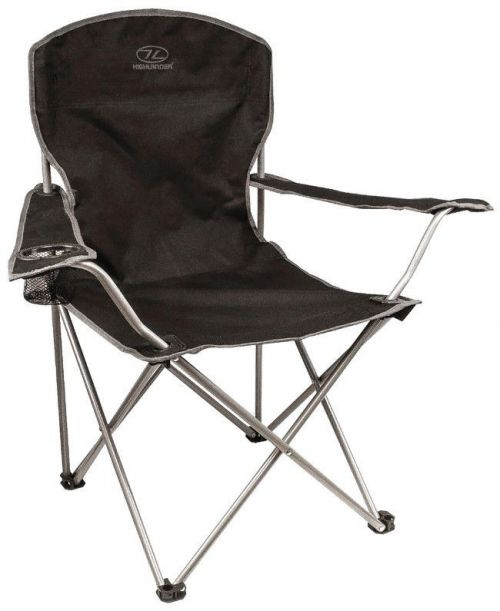 Highlander Tourist Folding Chair Black