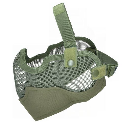 MFH Airsoft Half Face Mask Olive
