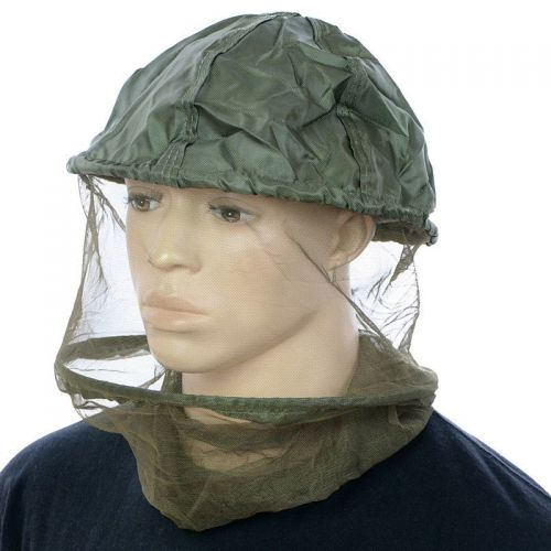 MFH Mosquito Head Net with Metal Ring Olive
