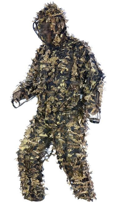 Mil-Tec Camo Ghillie Suit Wild Trees HD