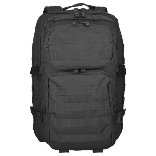 Mil-Tec MOLLE Tactical Backpack US Assault 36L Black