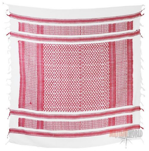 Mil-Tec Shemagh Scarf Red/White