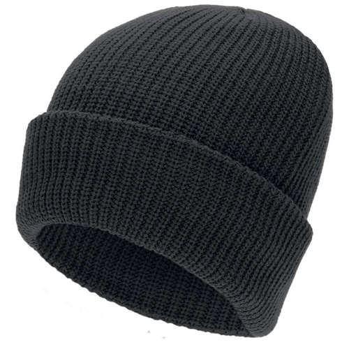 Mil-Tec Winter Cap Insulated Thinsulate Black