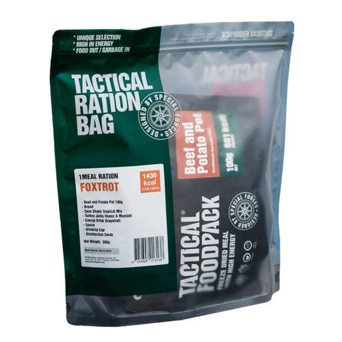 Tactical Foodpack Food Ration Foxtrot (1 Meal)