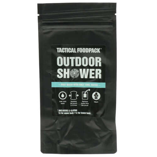 Tactical Foodpack Tourist Hygiene Kit for Outdoor Shower